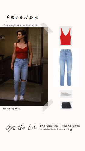 Get the look: Monica Geller en Friends