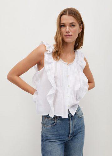5 prendas que necesitas tener en tu armario esta primavera blusa mango