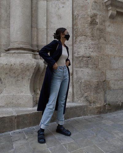 Cómo combinar los calcetines como las profesionales de moda