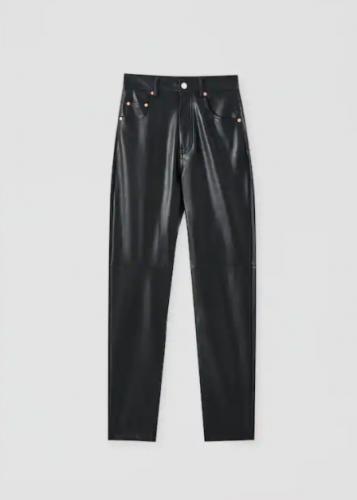 5 looks con pantalones de cuero que vas a querer llevar este otoño