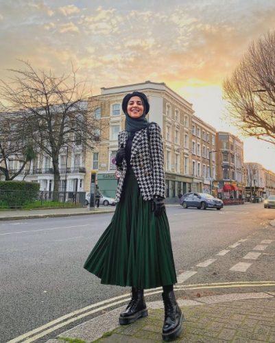 Cómo combinar tus faldas plisadas en tus looks de invierno foto 1