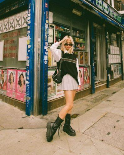 Cómo combinar tus faldas plisadas en tus looks de invierno foto 3