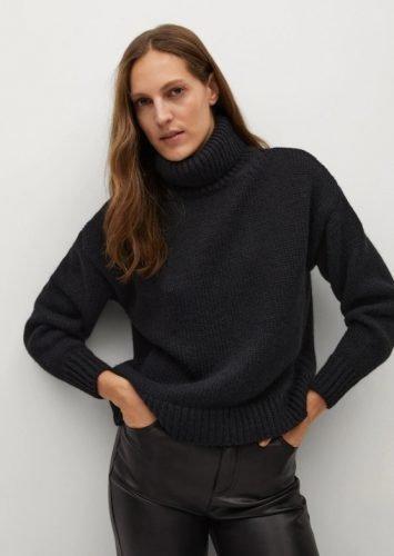 Cómo combinar jerséis de cuello alto como las influencers foto9
